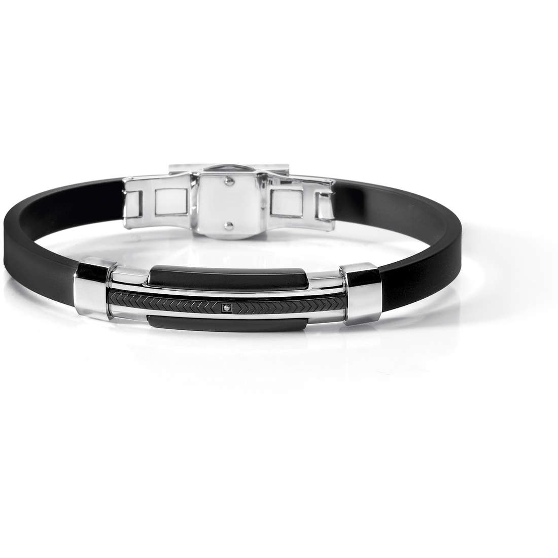bracelet man jewellery Comete Acciaio UBR 460