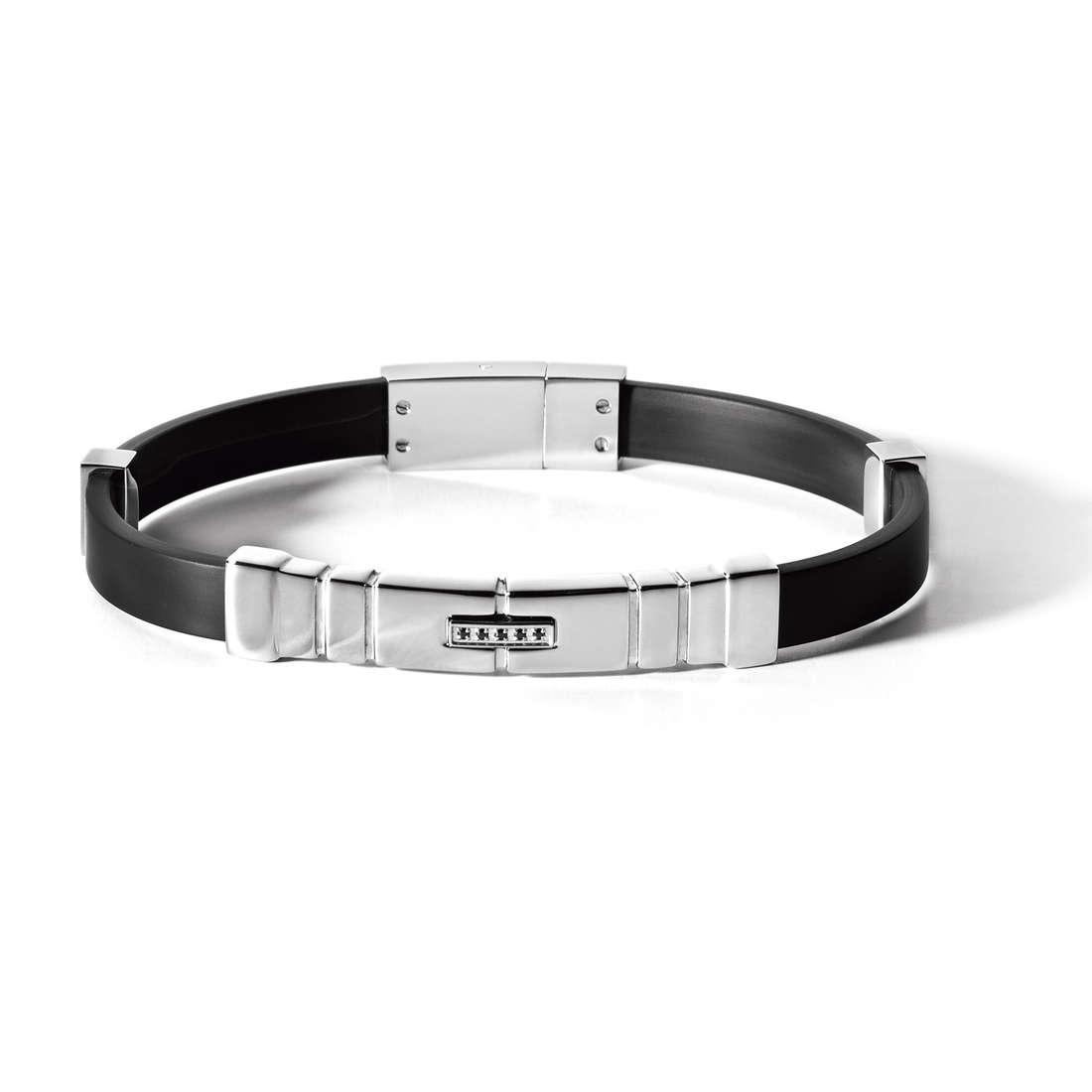 bracelet man jewellery Comete Acciaio UBR 462