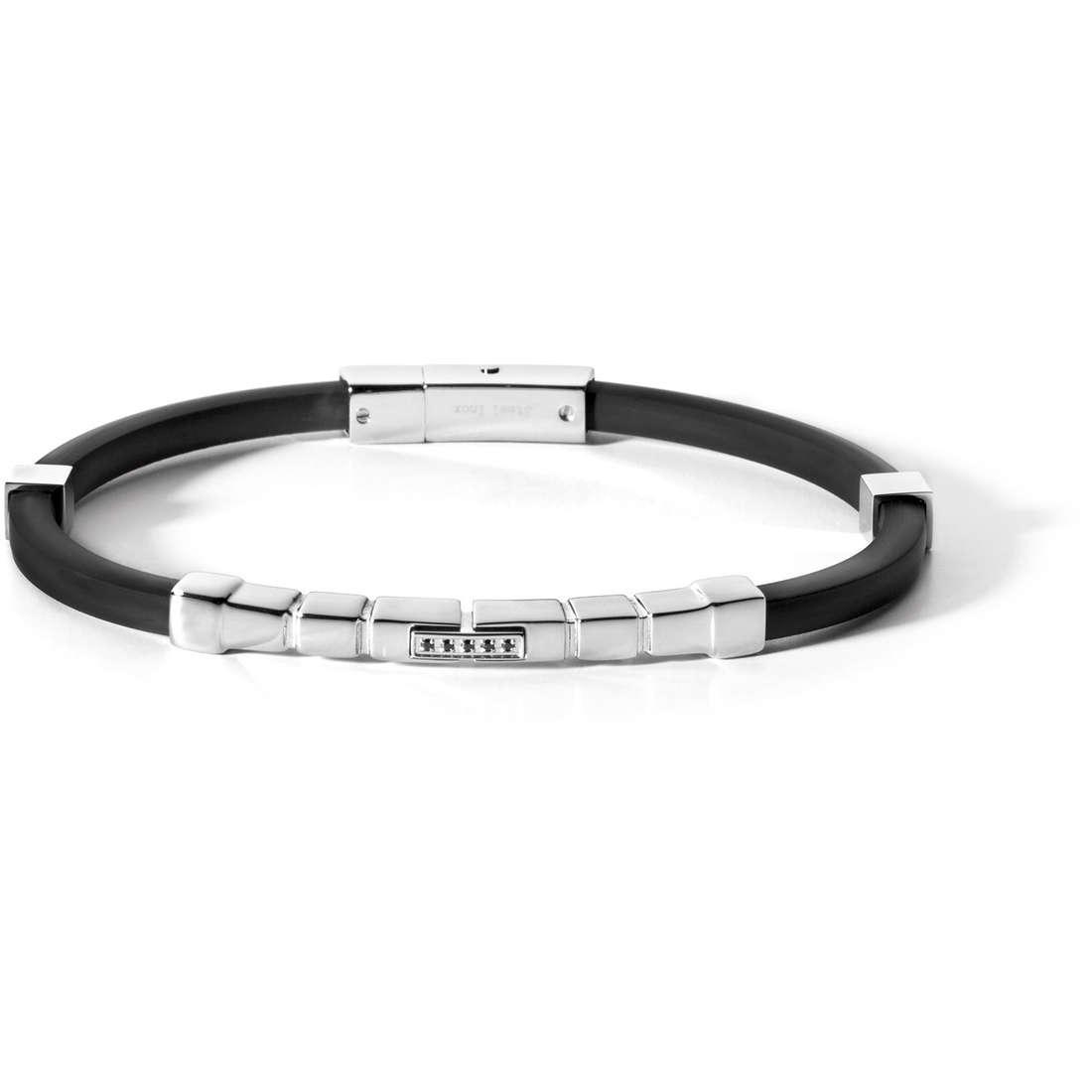 bracelet man jewellery Comete Acciaio UBR 463