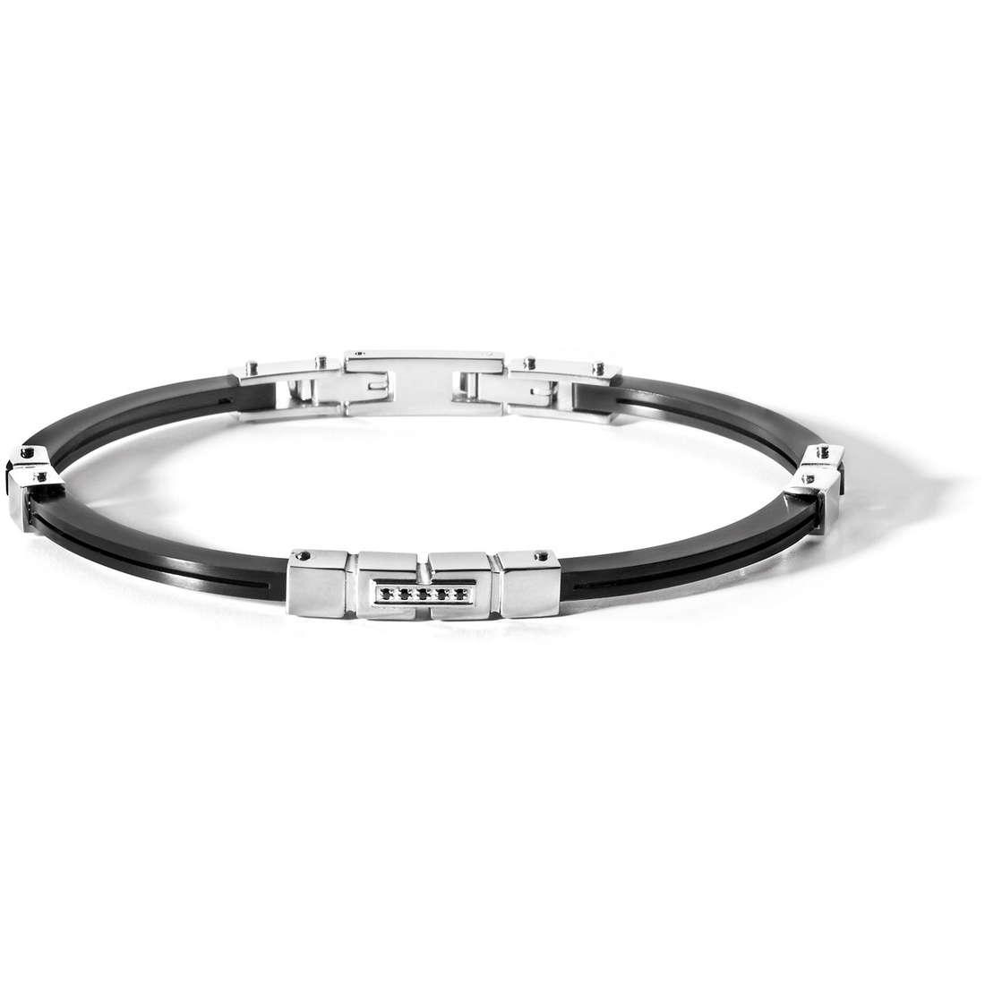 bracelet man jewellery Comete Acciaio UBR 464
