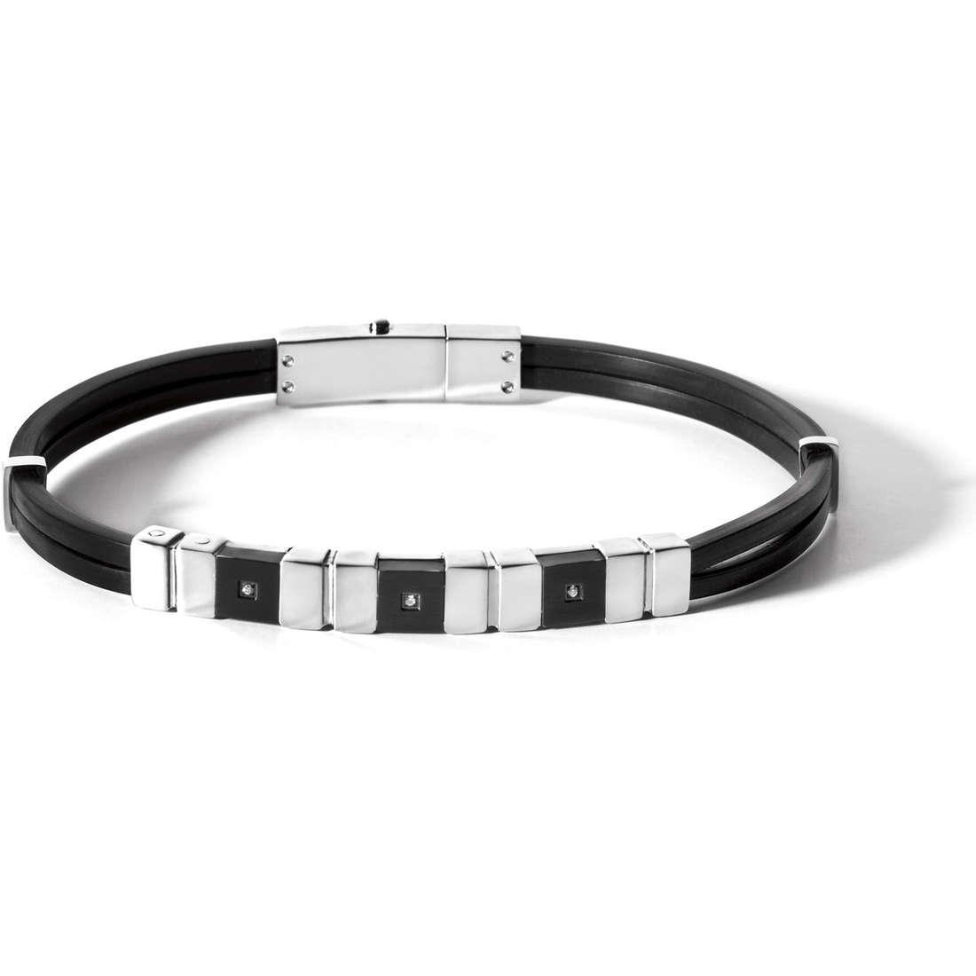 bracelet man jewellery Comete Acciaio UBR 467