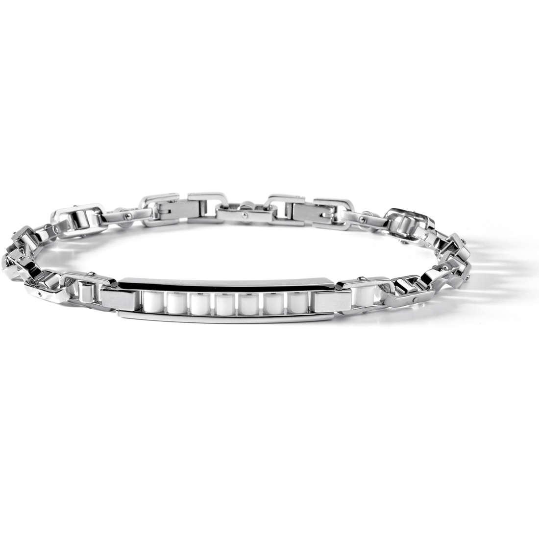 bracelet man jewellery Comete Acciaio UBR 469