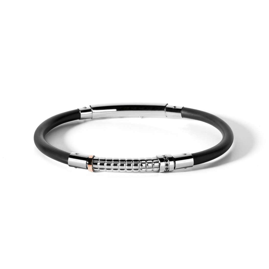 bracelet man jewellery Comete Acciaio UBR 470