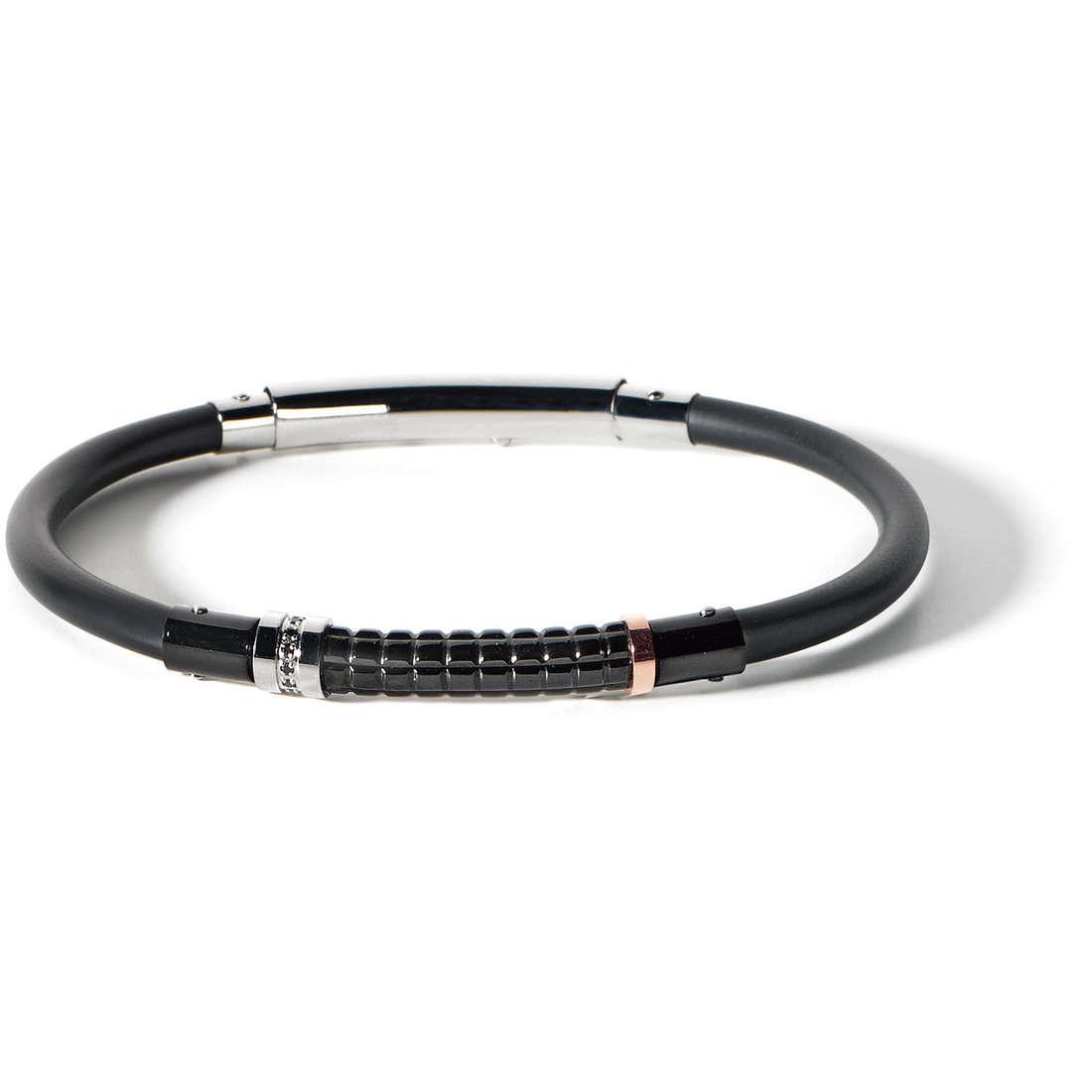 bracelet man jewellery Comete Acciaio UBR 471