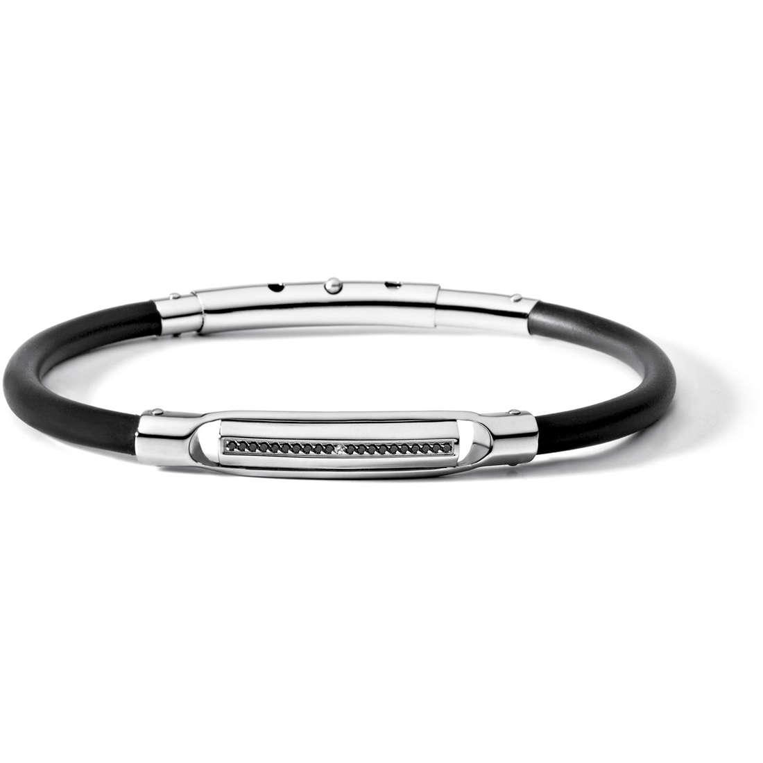 bracelet man jewellery Comete Acciaio UBR 472