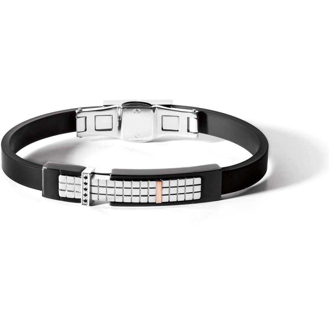 bracelet man jewellery Comete Acciaio UBR 485