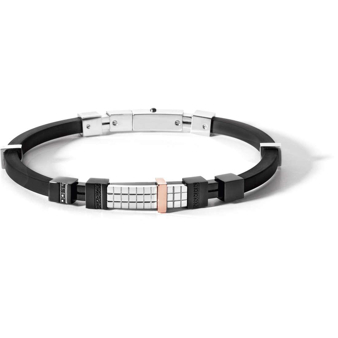 bracelet man jewellery Comete Acciaio UBR 486