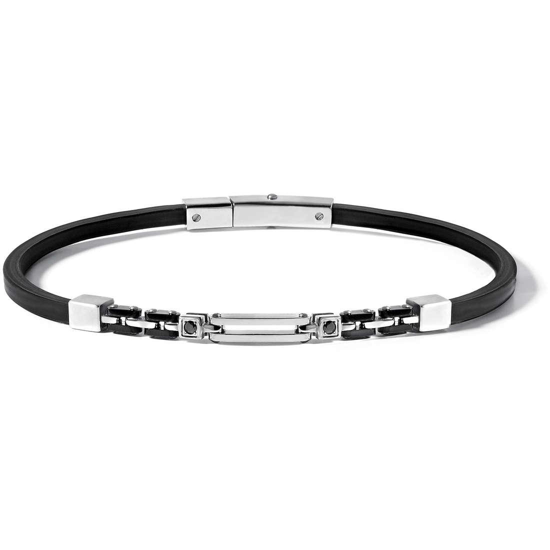bracelet man jewellery Comete Acciaio UBR 489
