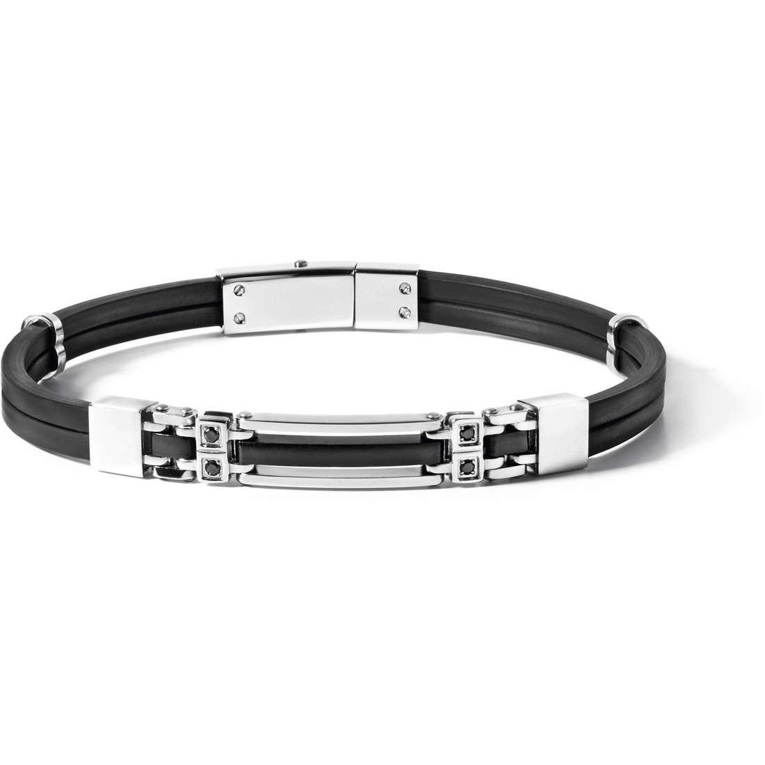 bracelet man jewellery Comete Acciaio UBR 490