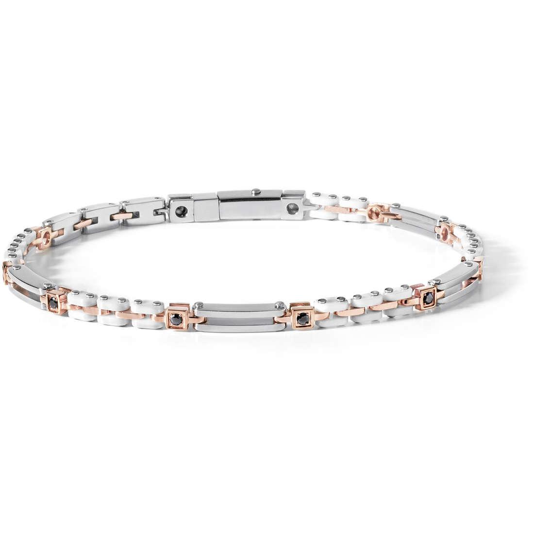 bracelet man jewellery Comete Acciaio UBR 491