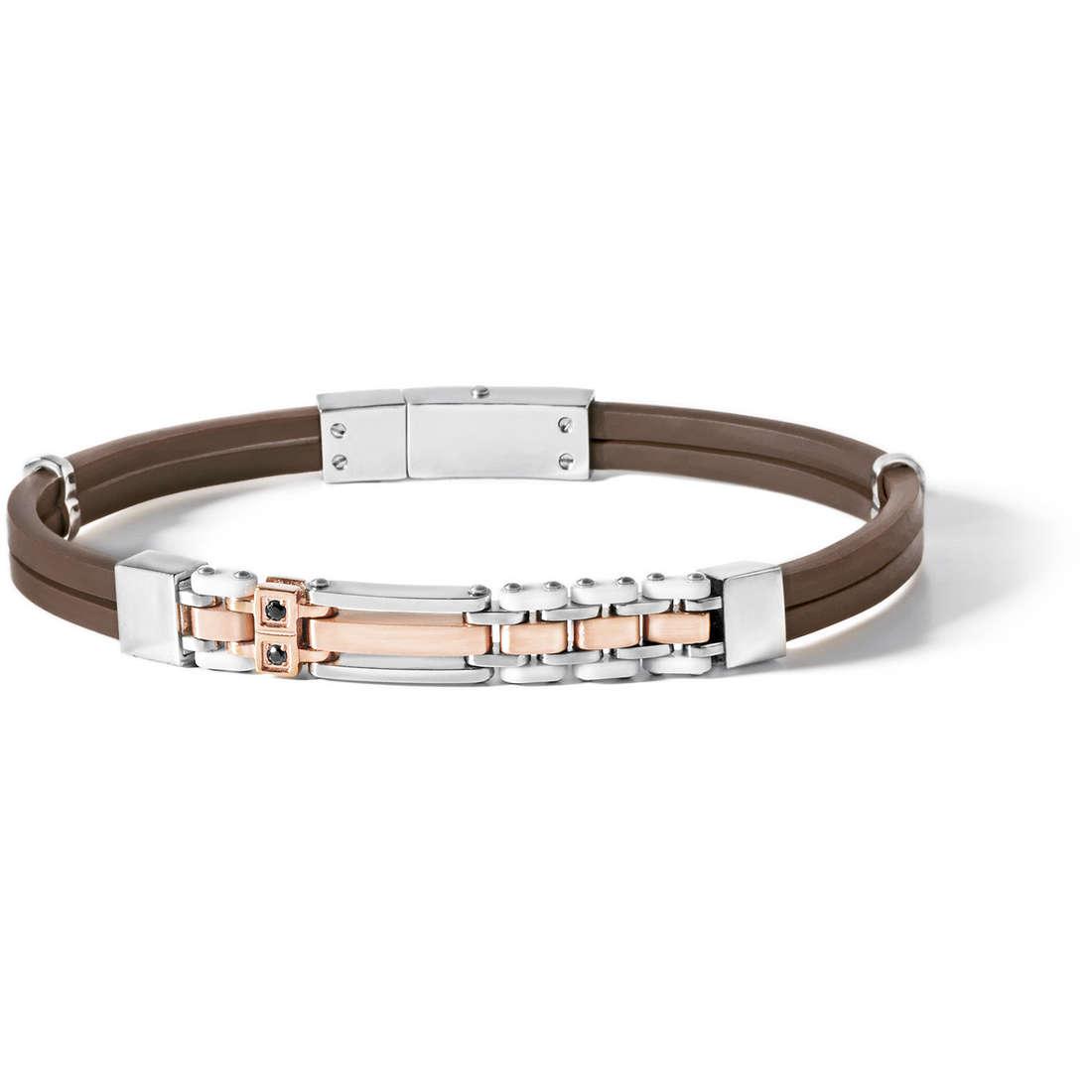 bracelet man jewellery Comete Acciaio UBR 494