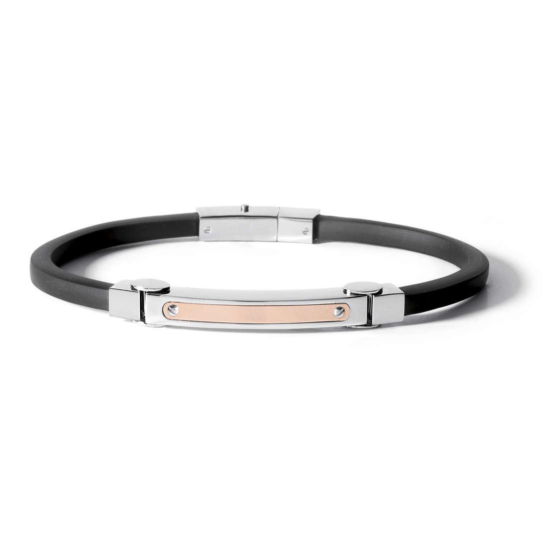 bracelet man jewellery Comete Acciaio UBR 498