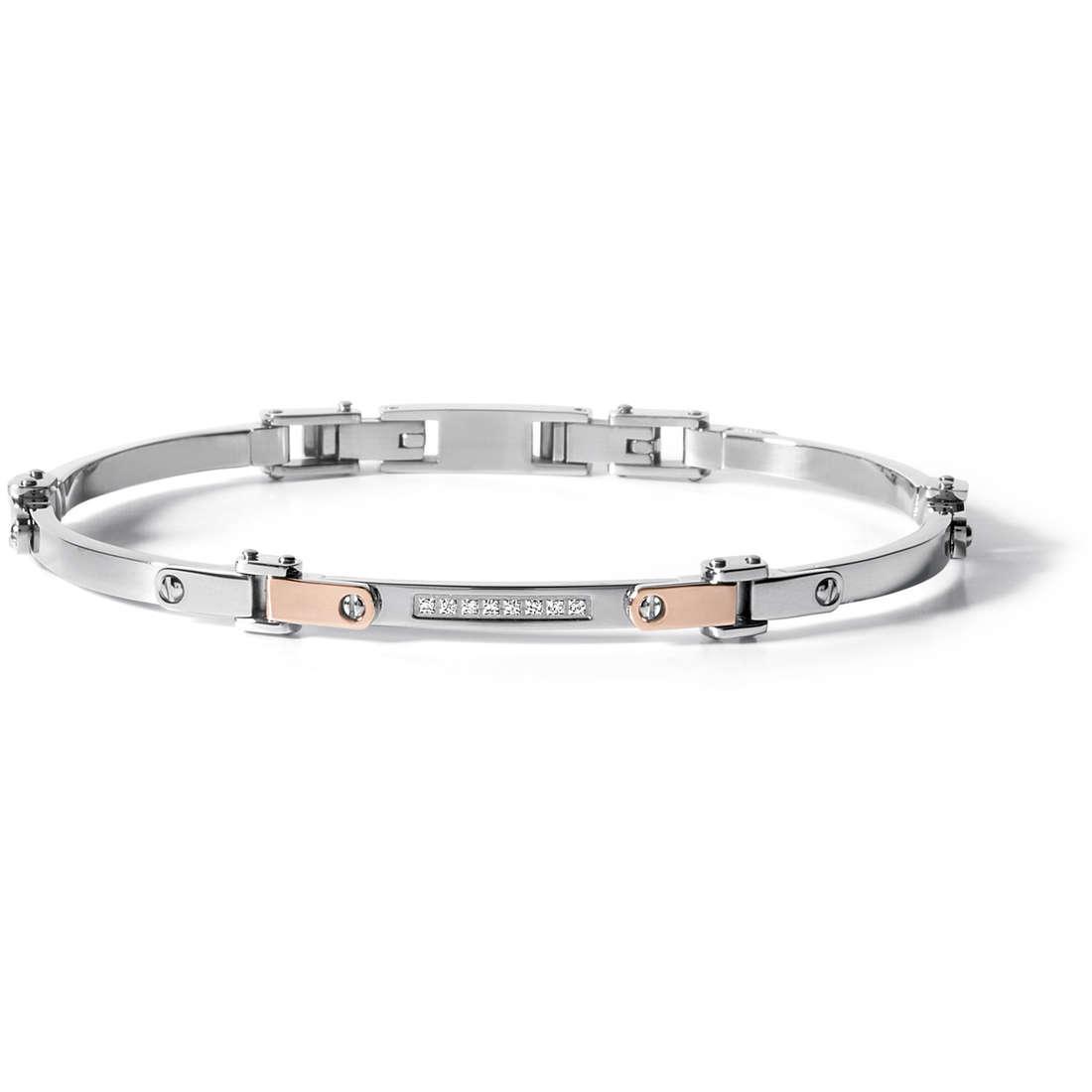 bracelet man jewellery Comete Acciaio UBR 499