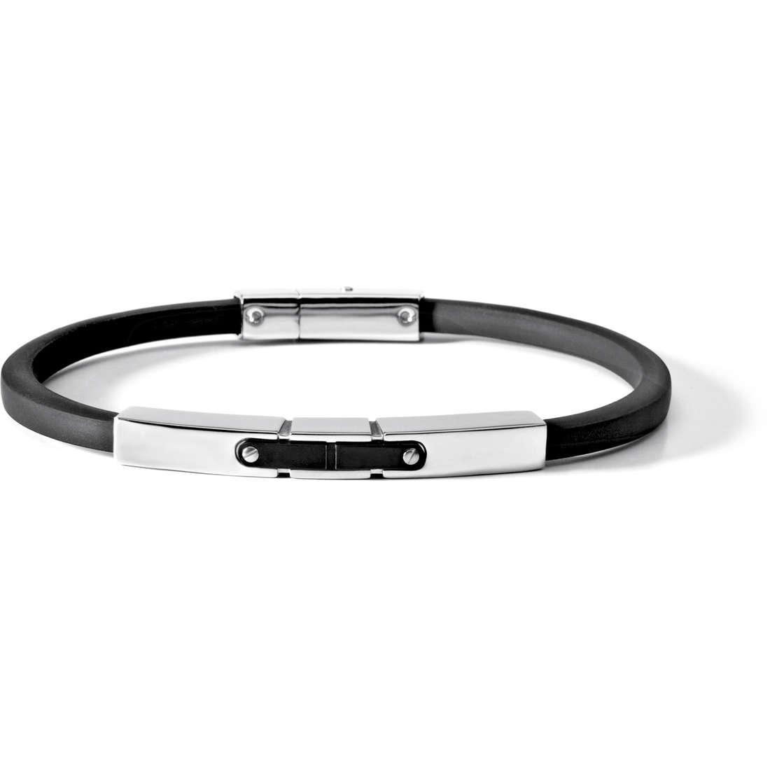 bracelet man jewellery Comete Acciaio UBR 500
