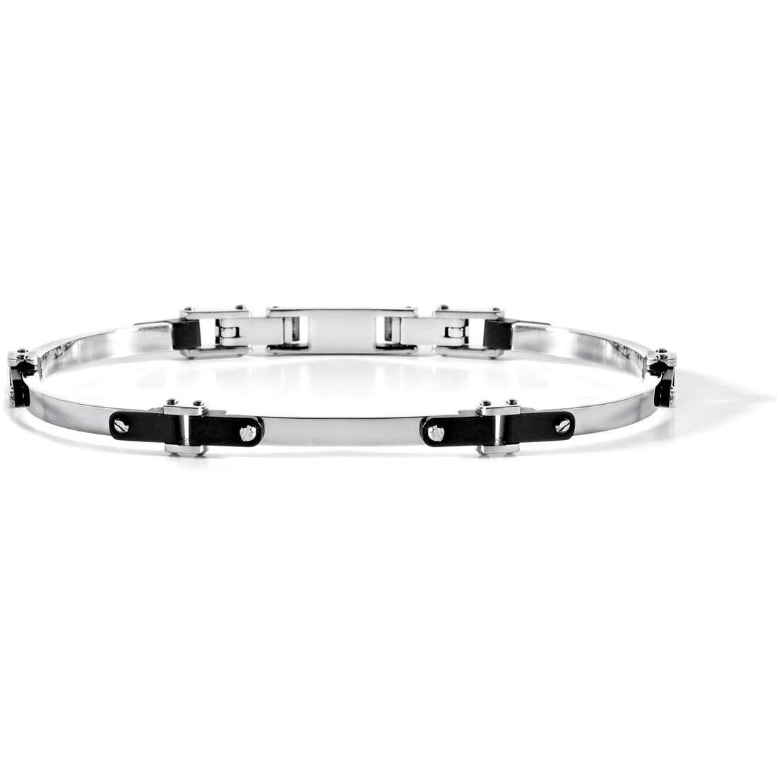 bracelet man jewellery Comete Acciaio UBR 502