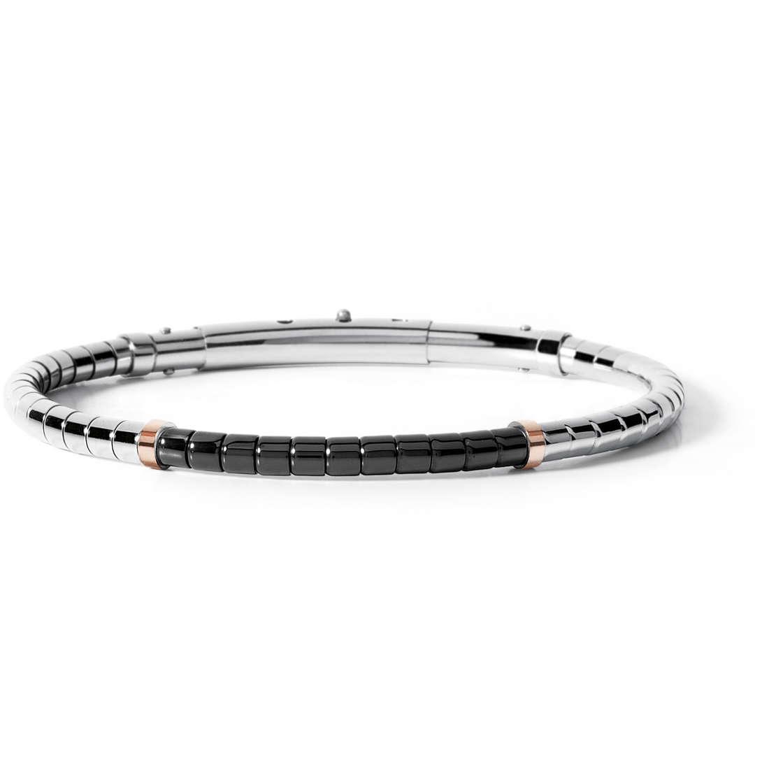 bracelet man jewellery Comete Acciaio UBR 509