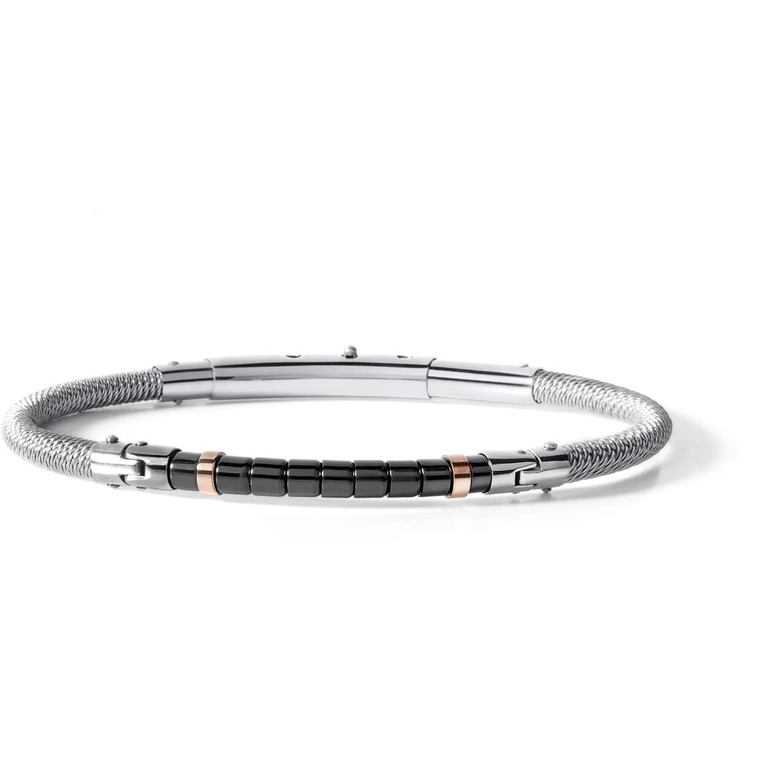bracelet man jewellery Comete Acciaio UBR 510