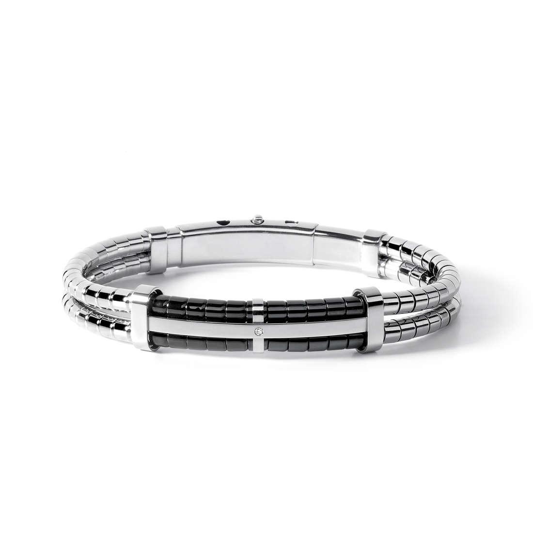 bracelet man jewellery Comete Acciaio UBR 511