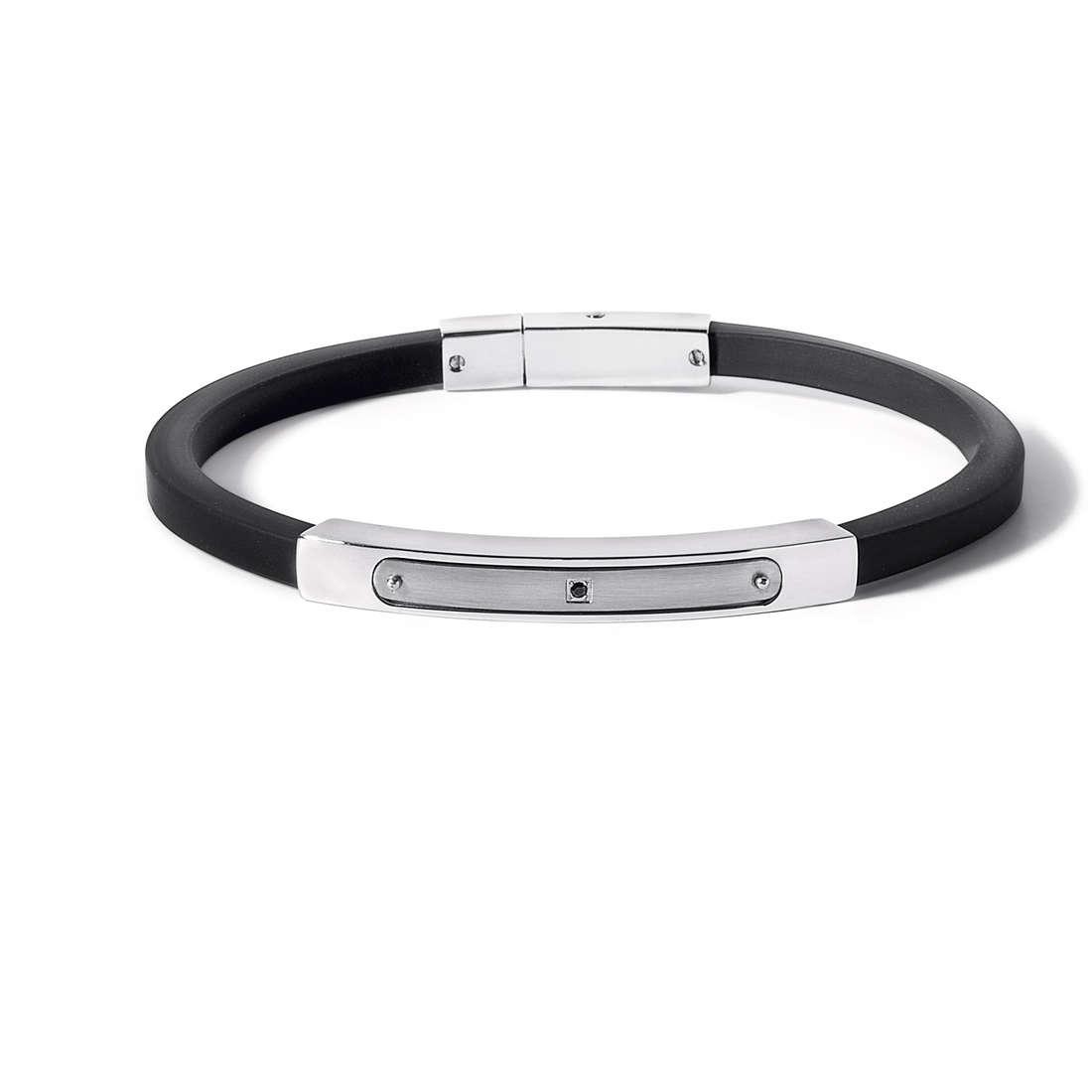 bracelet man jewellery Comete Acciaio UBR 512