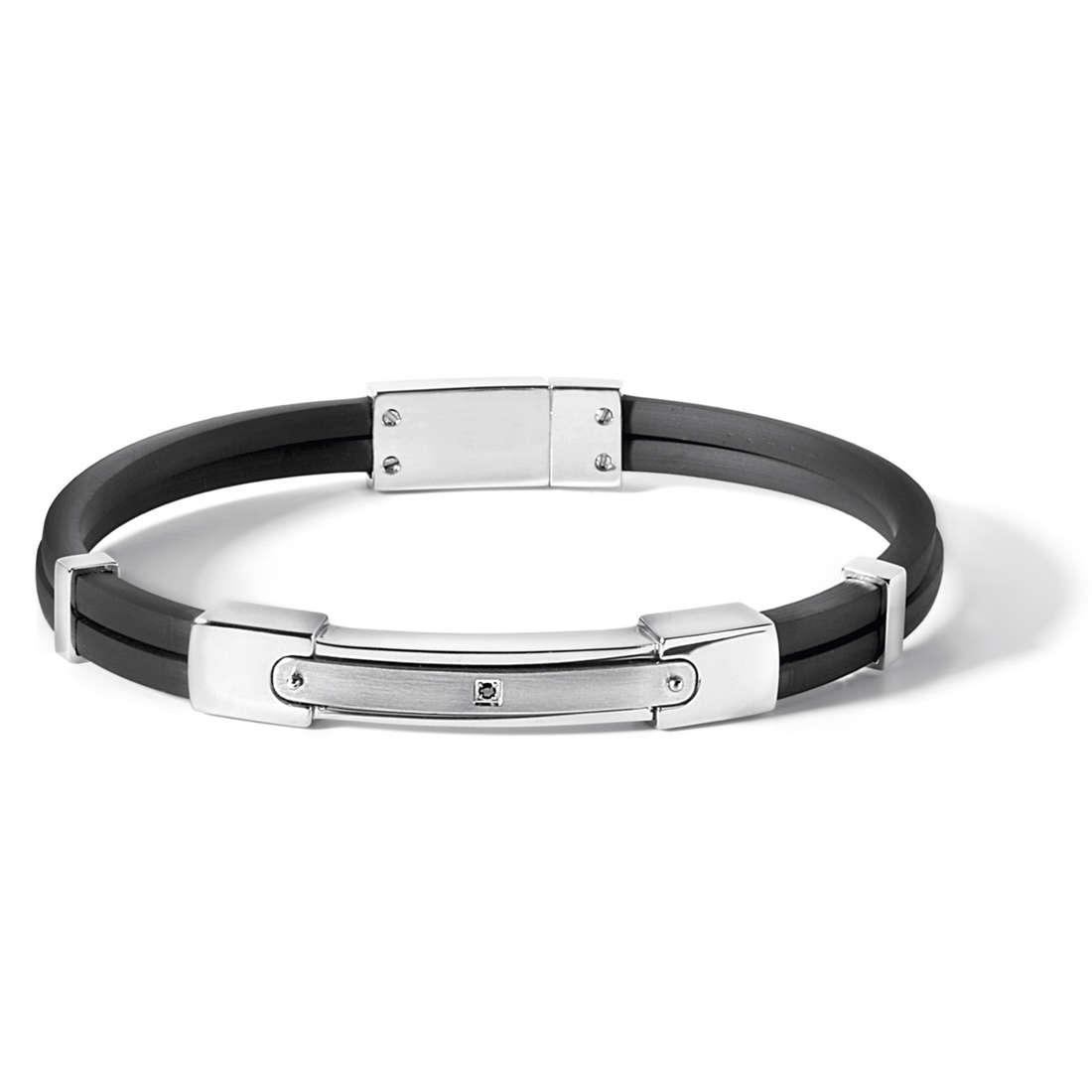 bracelet man jewellery Comete Acciaio UBR 513