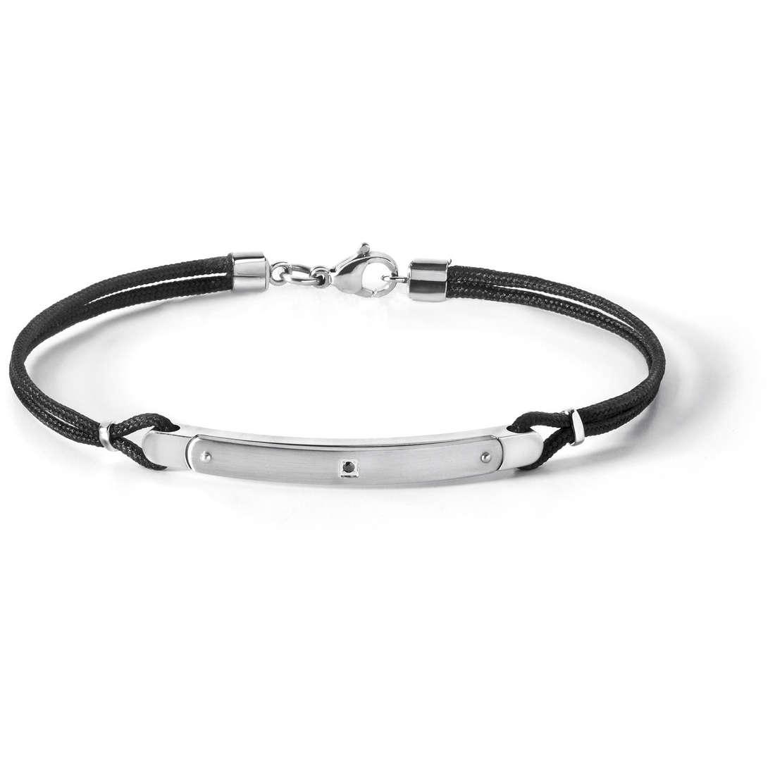 bracelet man jewellery Comete Acciaio UBR 514