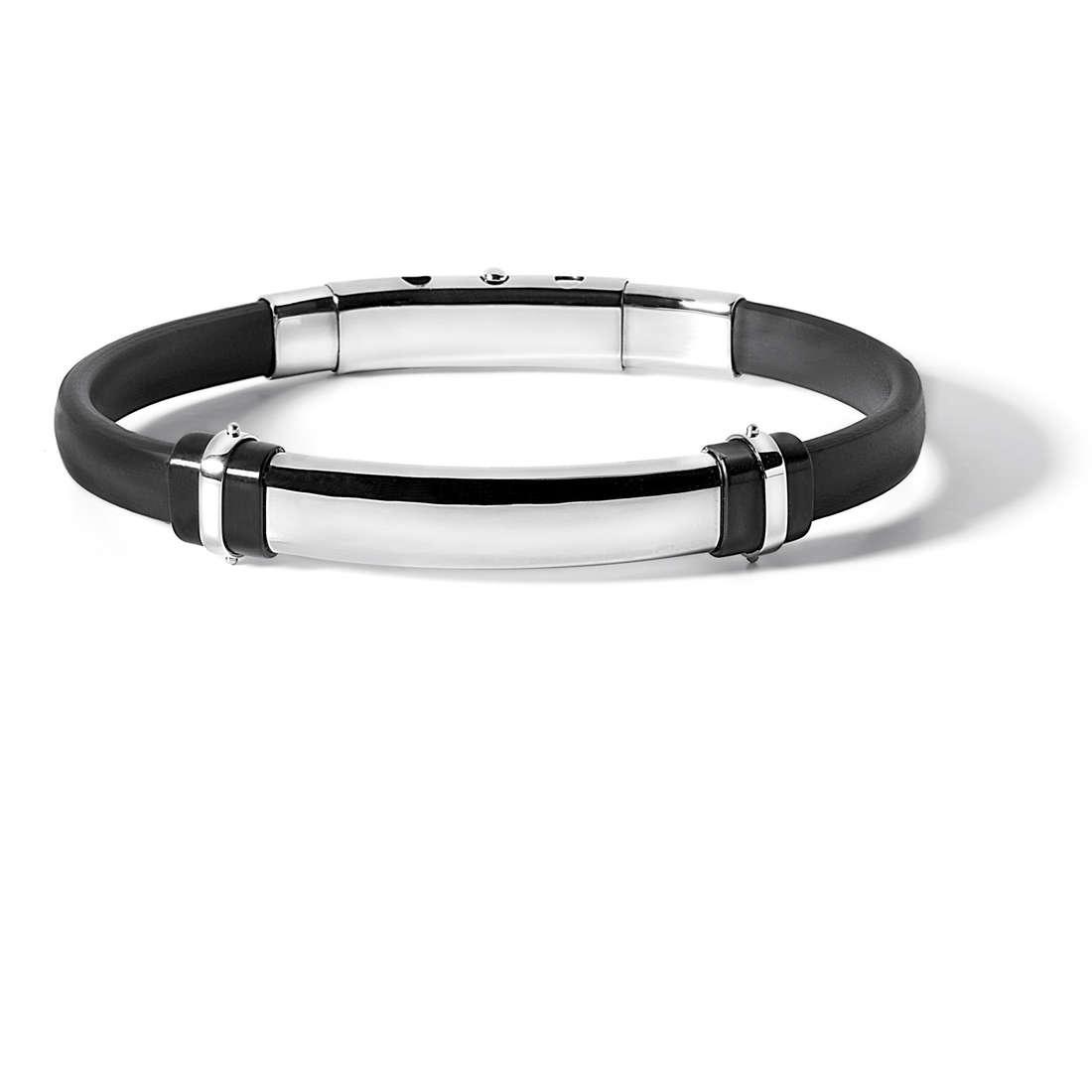 bracelet man jewellery Comete Acciaio UBR 516
