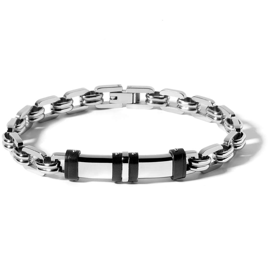 bracelet man jewellery Comete Acciaio UBR 520