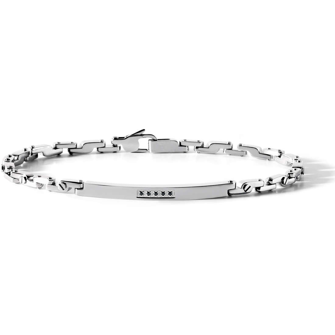 bracelet man jewellery Comete Acciaio UBR 534