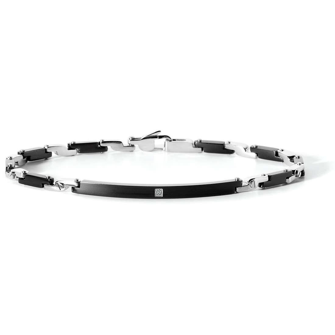 bracelet man jewellery Comete Acciaio UBR 536