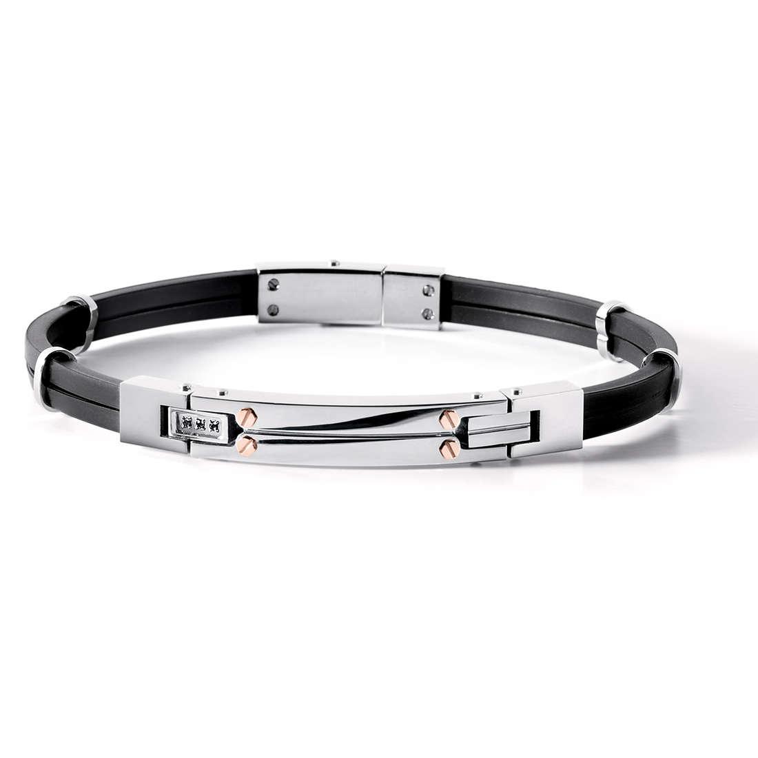 bracelet man jewellery Comete Acciaio UBR 538
