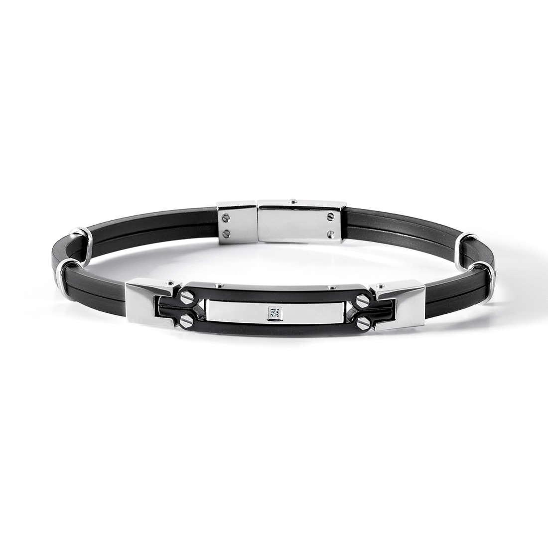 bracelet man jewellery Comete Acciaio UBR 539
