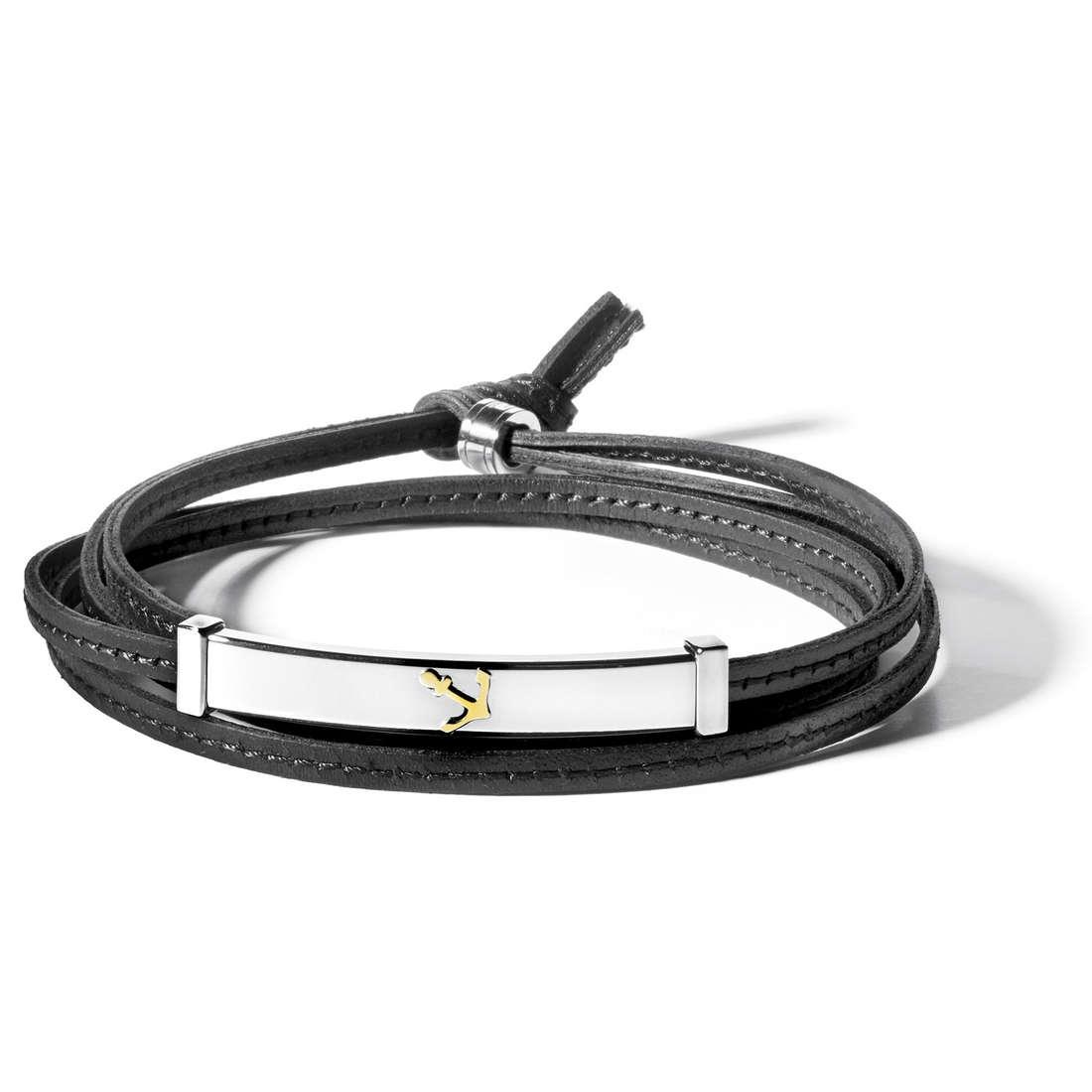 bracelet man jewellery Comete Acciaio UBR 544