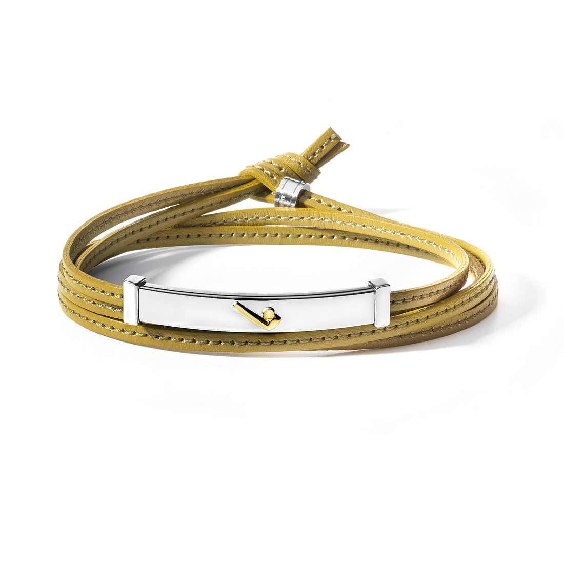 bracelet man jewellery Comete Acciaio UBR 548