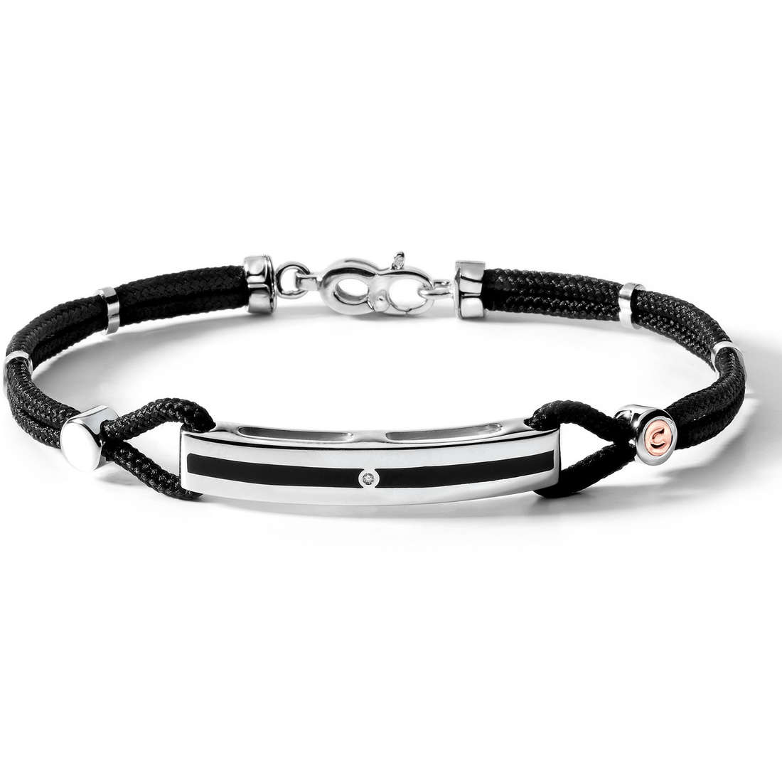 bracelet man jewellery Comete Argento 925 UBR 346