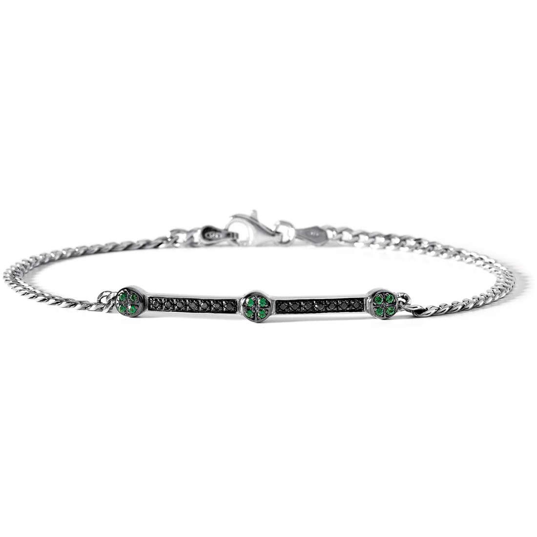 bracelet man jewellery Comete Argento 925 UBR 436