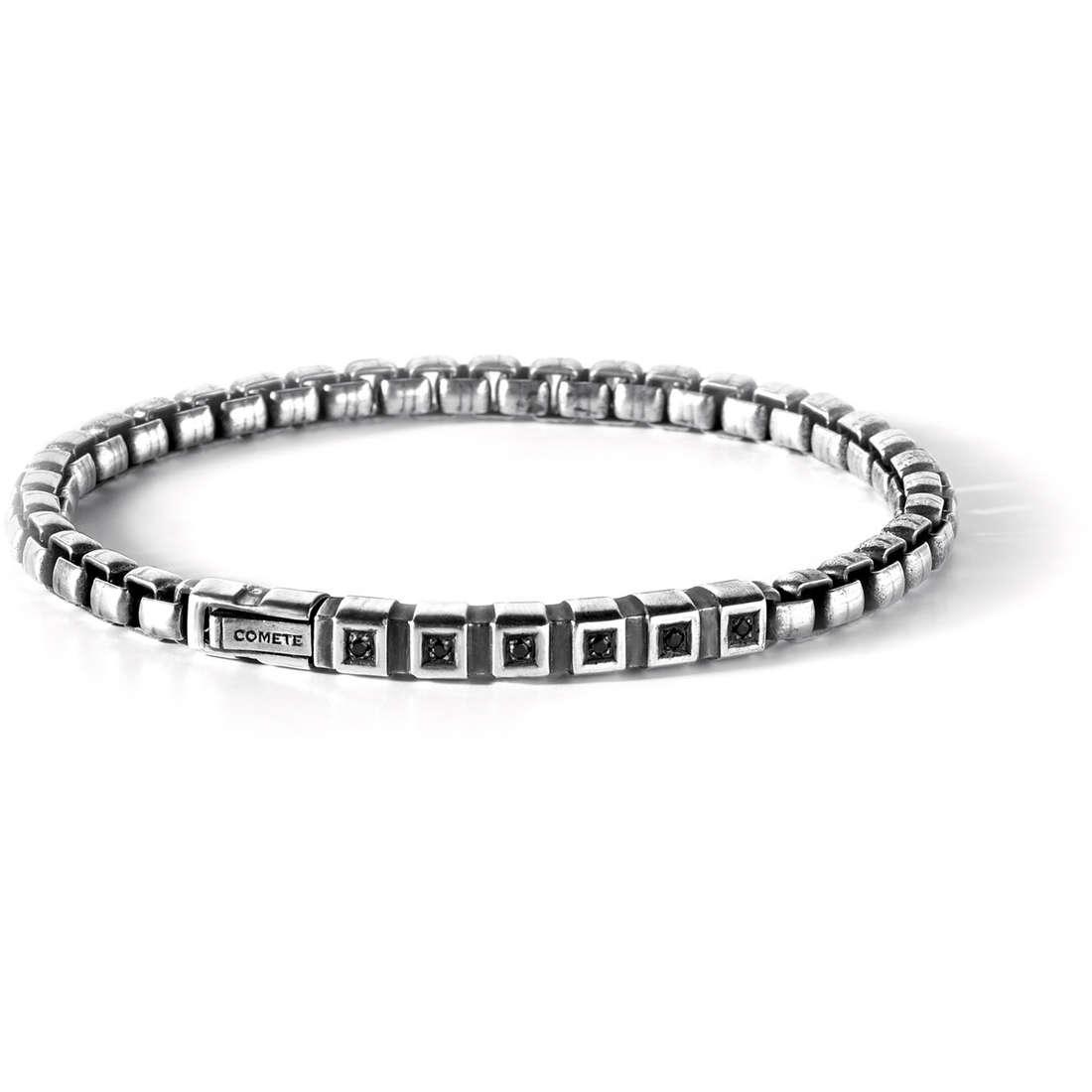 bracelet man jewellery Comete Argento 925 UBR 440