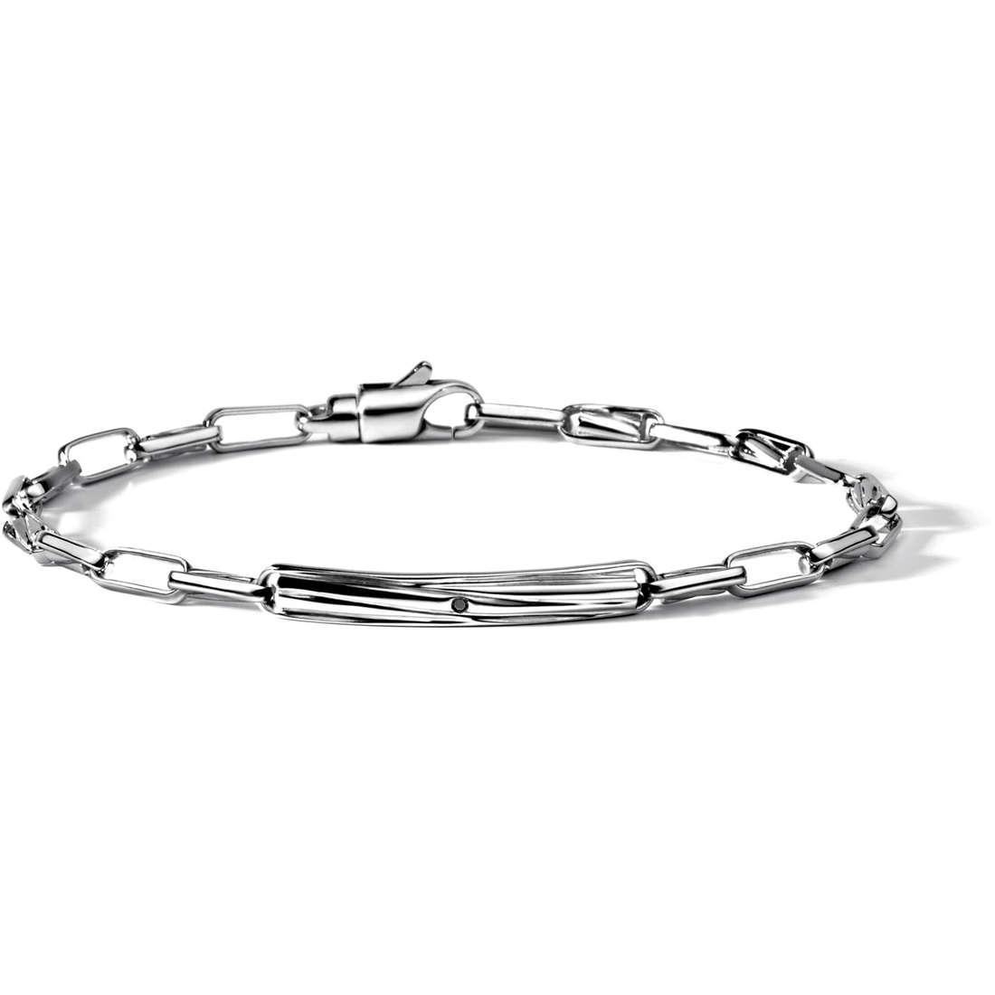 bracelet man jewellery Comete Argento 925 UBR 482
