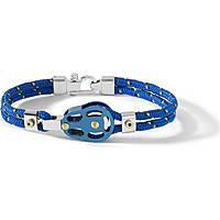 bracelet man jewellery Comete Blu di Genova UBR 726