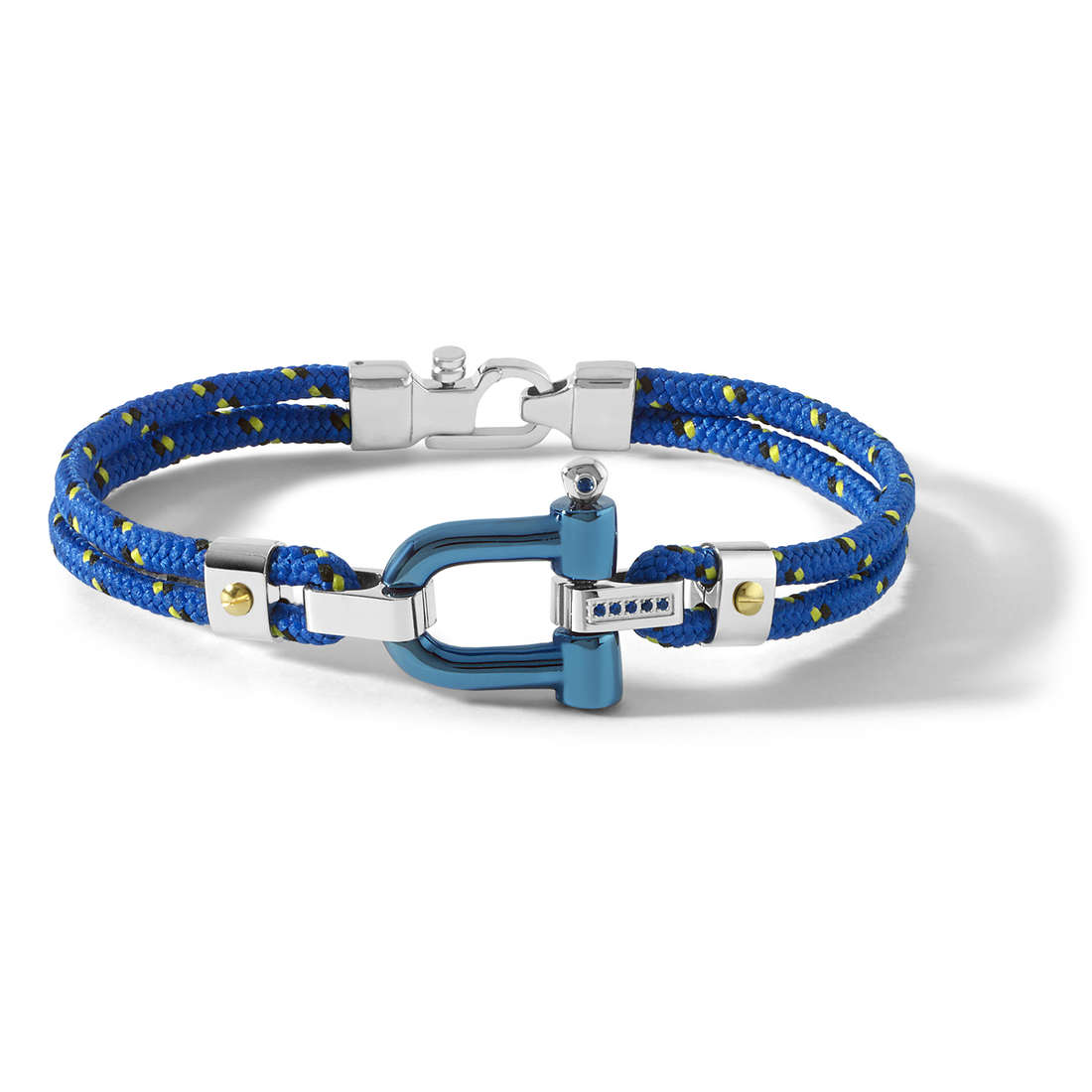 bracelet man jewellery Comete Blu di Genova UBR 730