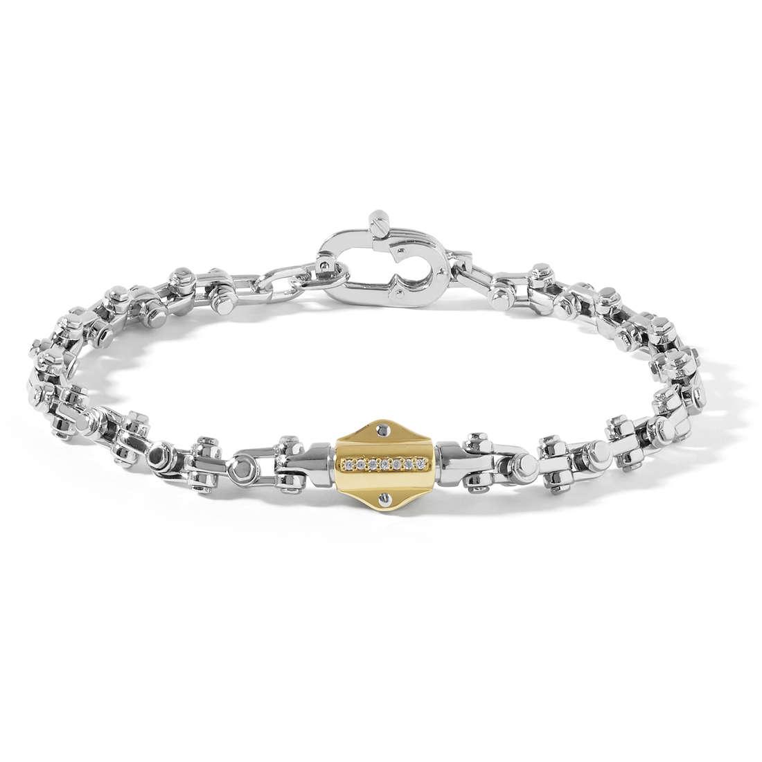 bracelet man jewellery Comete Building UBR 752