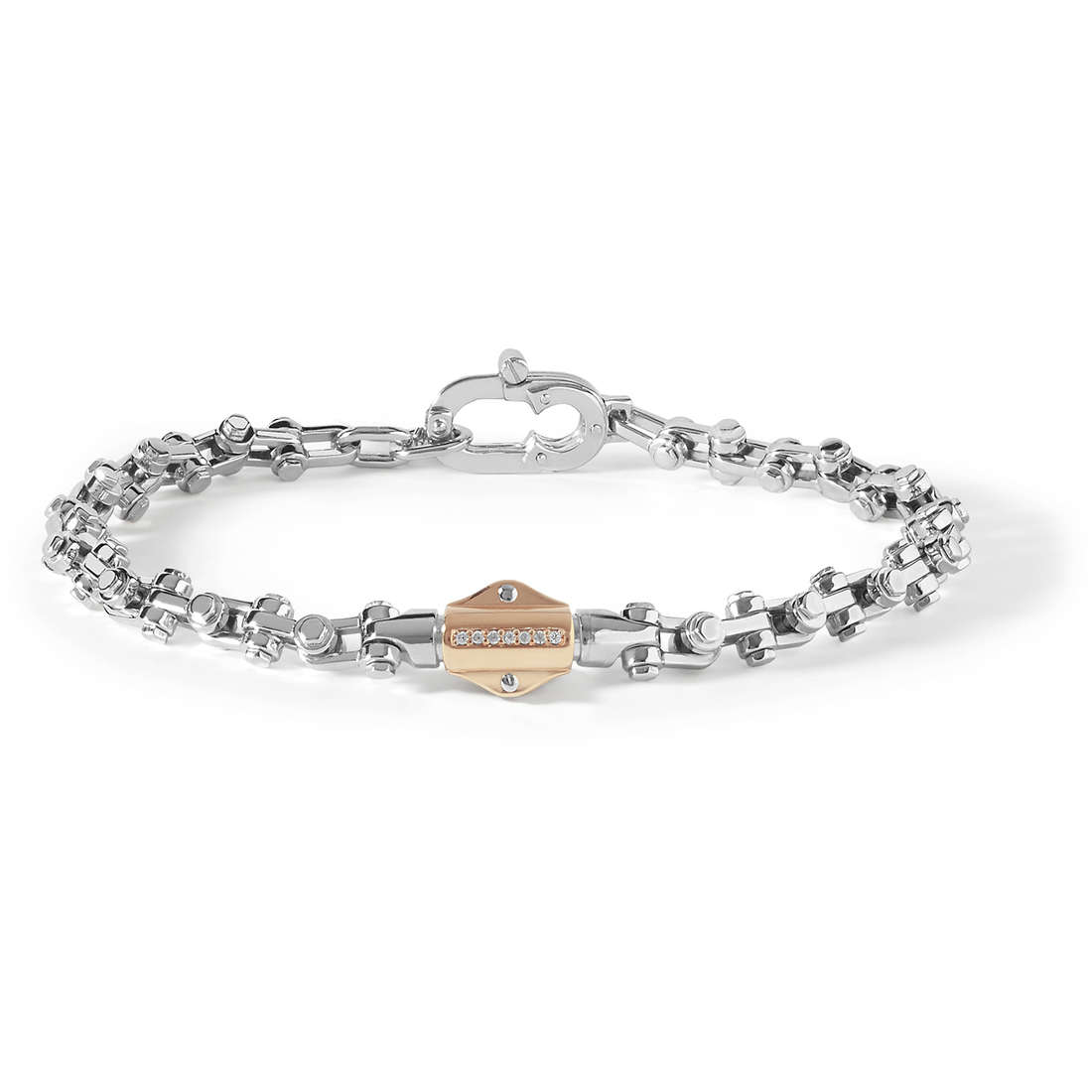 bracelet man jewellery Comete Building UBR 754