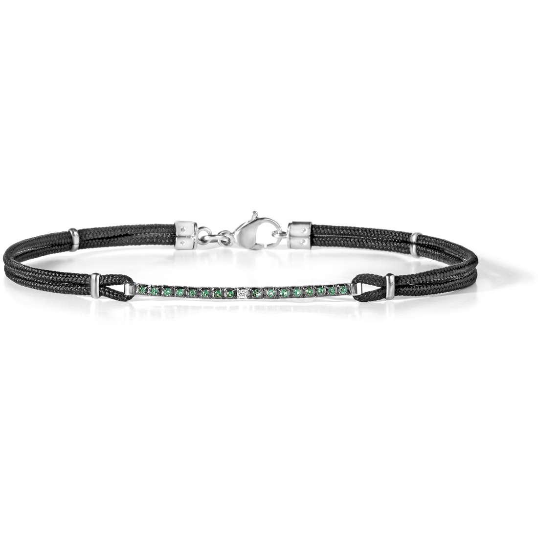 bracelet man jewellery Comete Pietre preziose colorate UBR 562