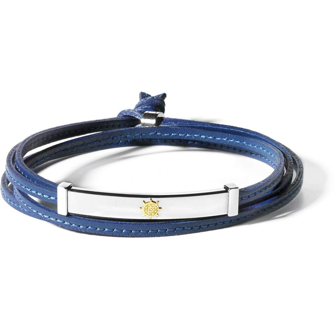 bracelet man jewellery Comete Simboli UBR 545