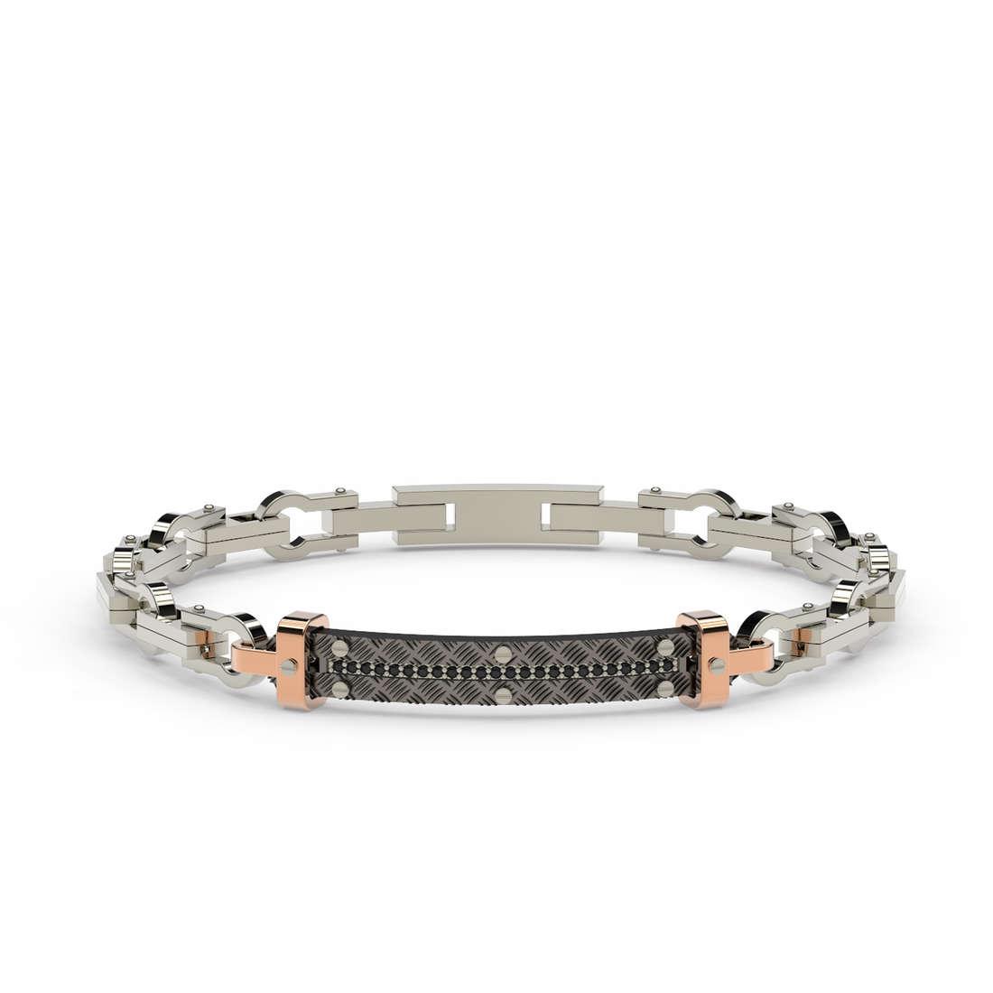 bracelet man jewellery Comete Texture UBR 784