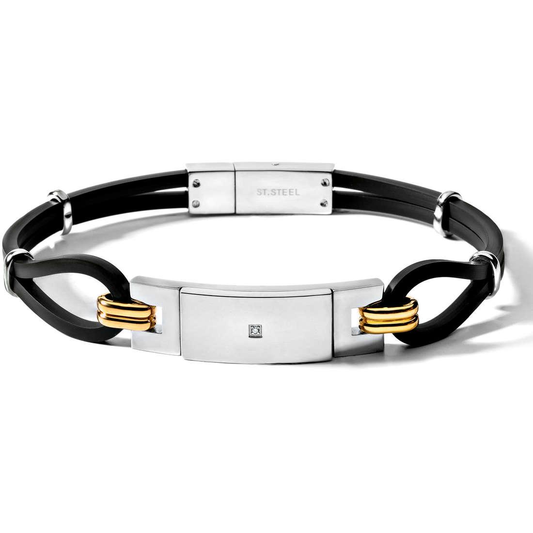 bracelet man jewellery Comete UBR 314