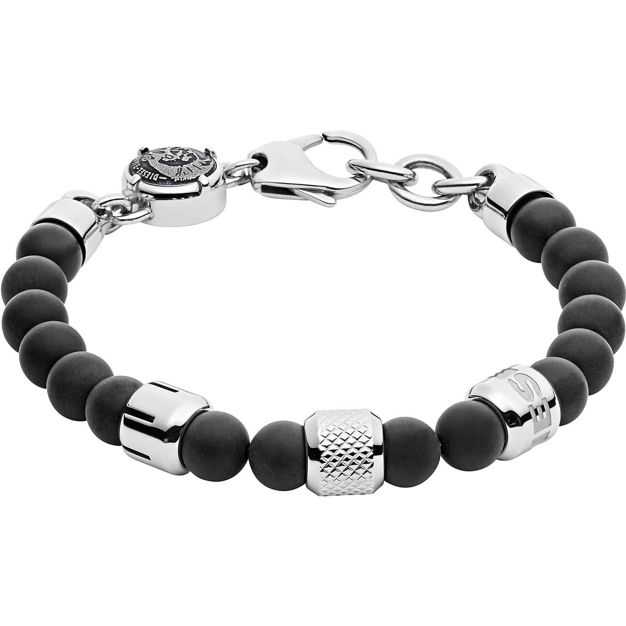 bracelet man jewellery Diesel Beads DX1023040 bracelets Diesel e215c55f5a55