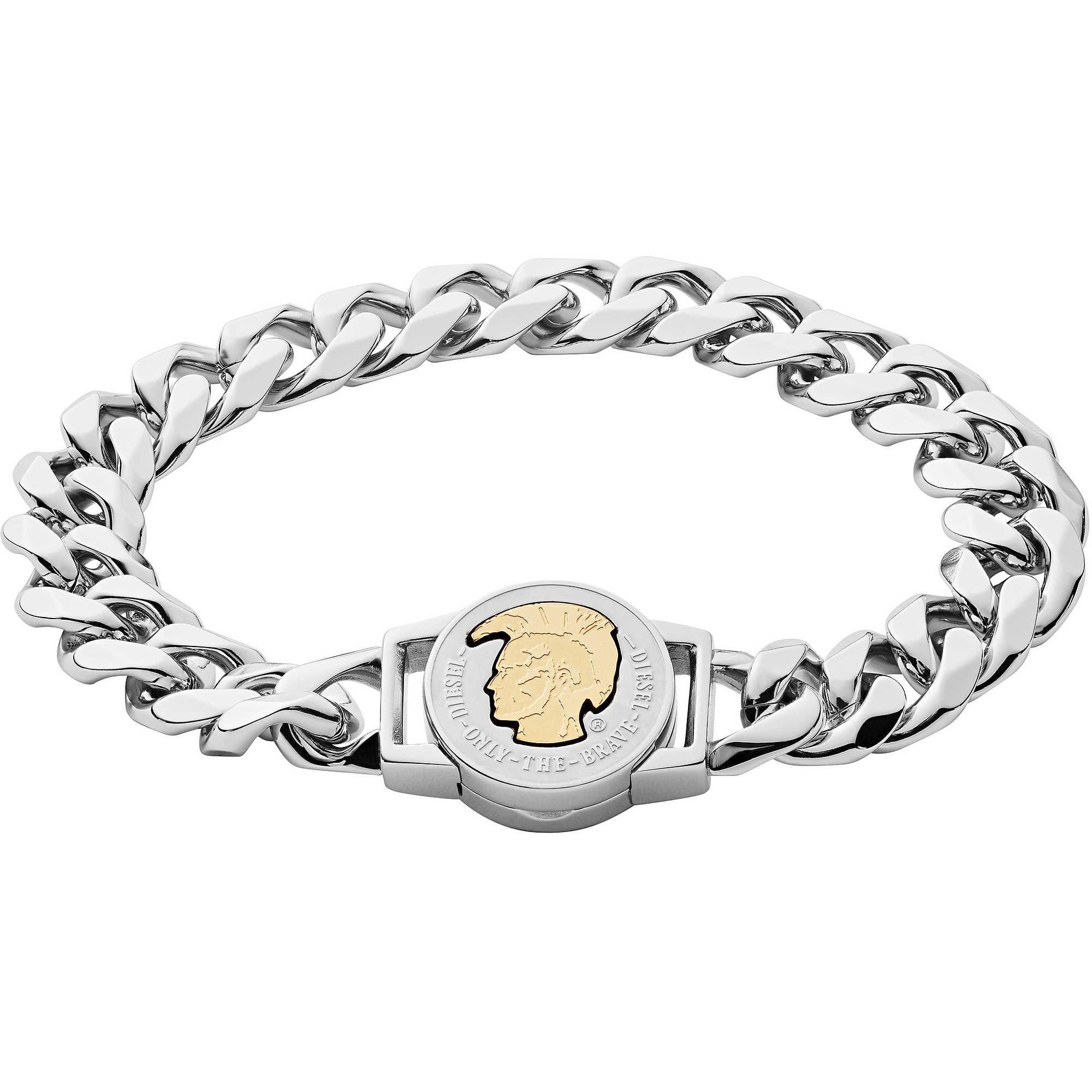 bracelet man jewellery Diesel Steel DX1124040 bracelets Diesel 734cc82a6dfb
