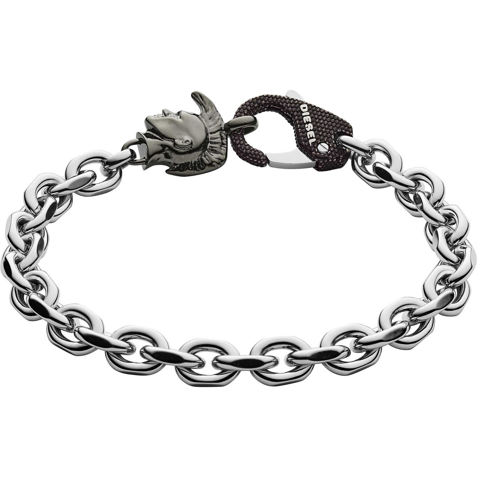 bracelet man jewellery Diesel Steel DX1146040 bracelets Diesel 30e664621c13