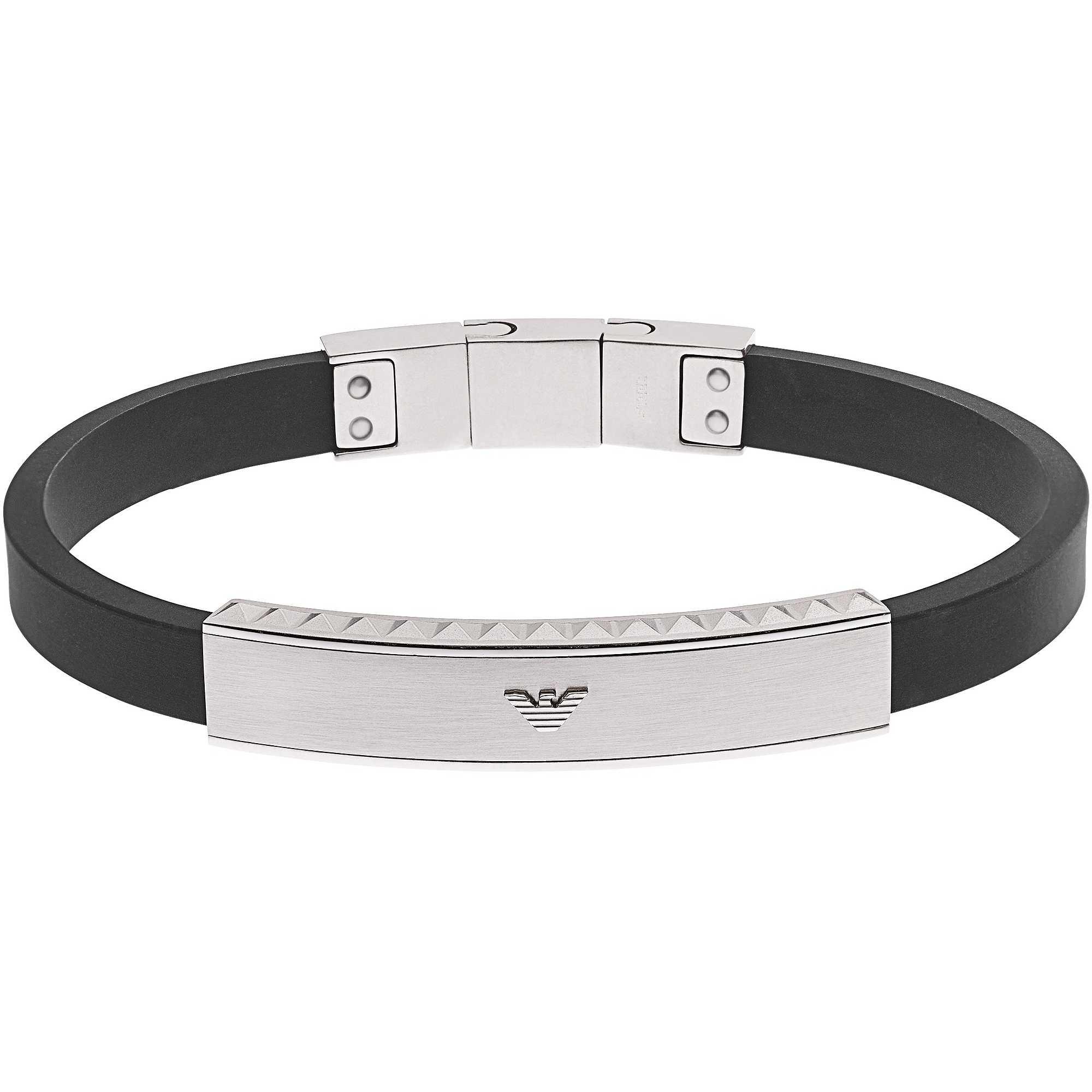 bracelet man jewellery Emporio Armani EGS1882040 bracelets Emporio ... 95bb2621901