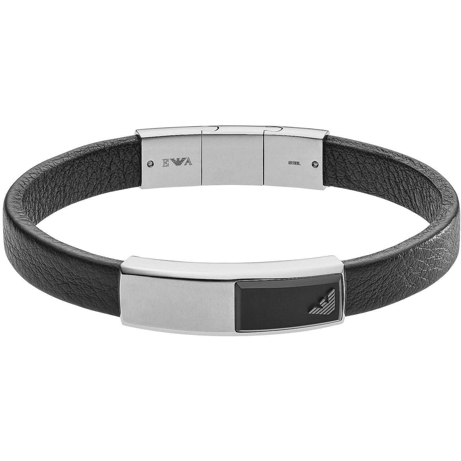 bracelet man jewellery Emporio Armani EGS2288040 bracelets Emporio ... bd9bb5dface